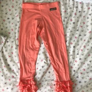 MJC sherbet peach leggings 6